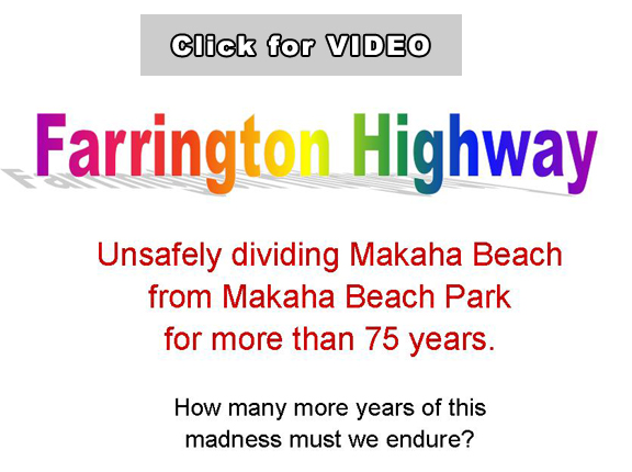 Makaha Video of Unsafe Traffic
